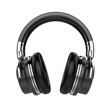 Free shipping Bluetooth headset active noise reduction headphones headset heavy music phone wireless headset ear