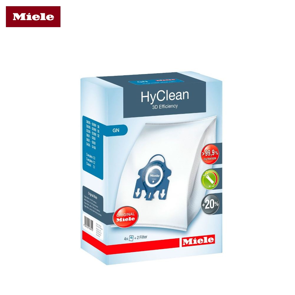 Bags-cleaner bags Miele GN HyClean 3D Efficiency цена и фото