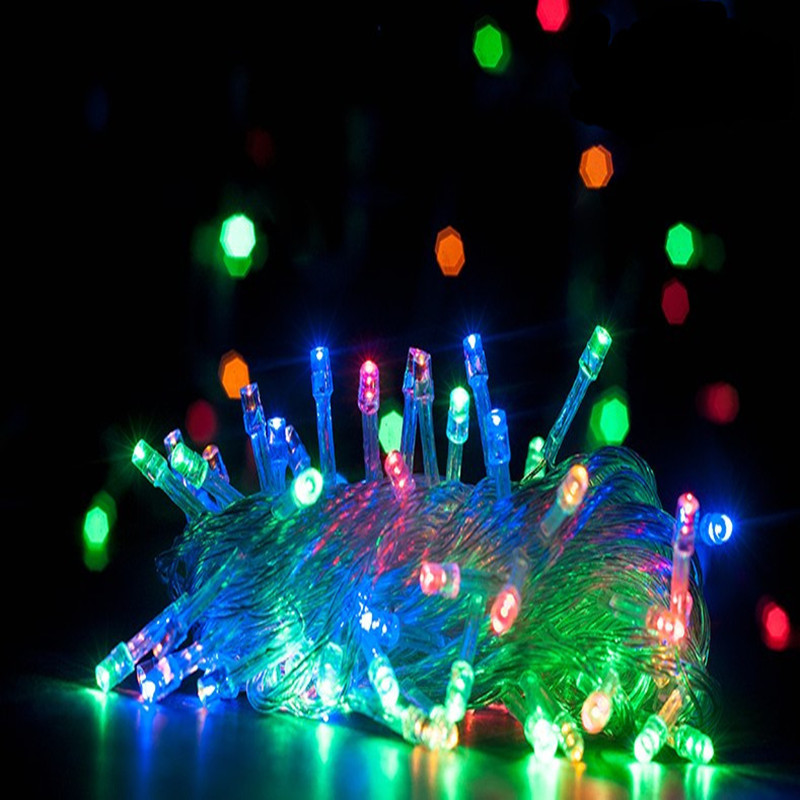 2018 Top Fashion Rushed Bulb Multi Blue Pisca Pisca Led String Valgus - Puhkusevalgustus - Foto 3