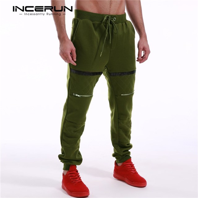 e95b0fd01bf473 New Winter Men Long Sportswear Casual Elastic Waist Baggy Mens Track Pants  Long Workout Trousers Jogger Sweatpants Plus Size 3XL