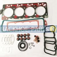 Full Gasket Kit 3804896 3802240 3802361 3802375 for Cummins 4B 4BT 4BTA Engine|Engine Rebuilding Kits| |  -