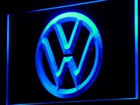 D145 B Volkswagen VW Car Logo Services Neon Light Sign