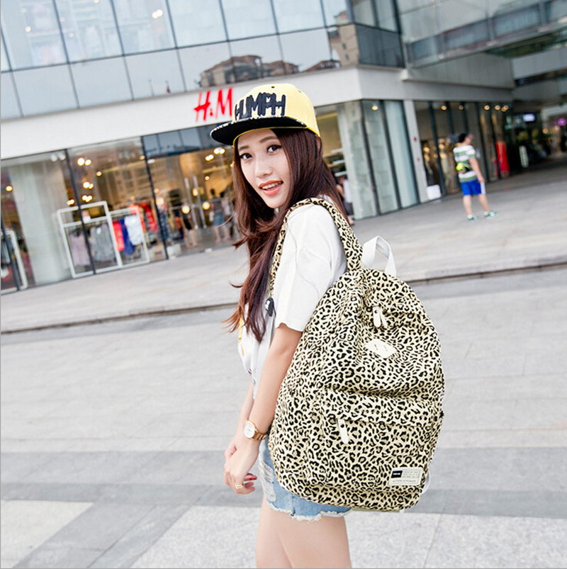 Korean style middle school students backpack bags large capacity backpack nylon casual travel laptop backpack bags