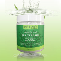 Exfoliating Cream Natural Tea Tree Oil Organic Body Foot Anti Fungal Moisturizing Whitening Cream Gel Exfoliator