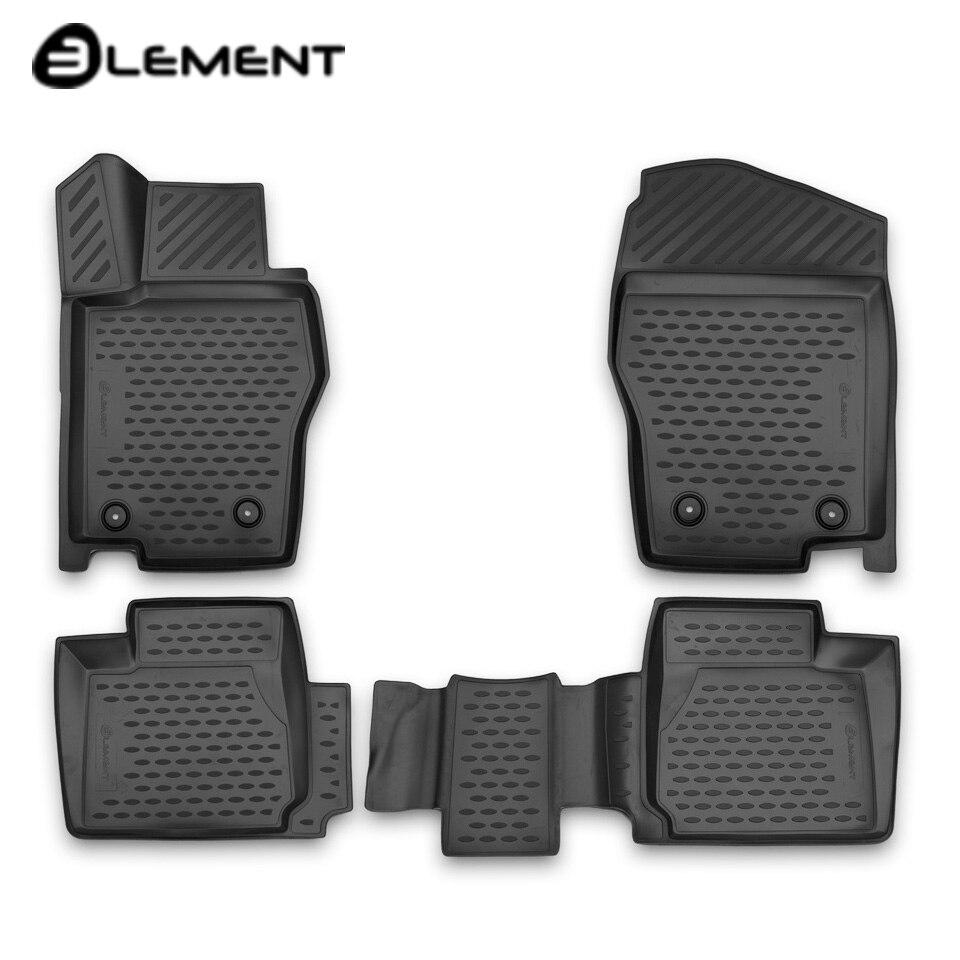 For Haval H8 2015-2019 3D floor mats into saloon 4 pcs/set Element ELEMENT3D9904210k for haval h6 fwd 2014 2019 3d floor mats into saloon 4 pcs set element element3d9922210k