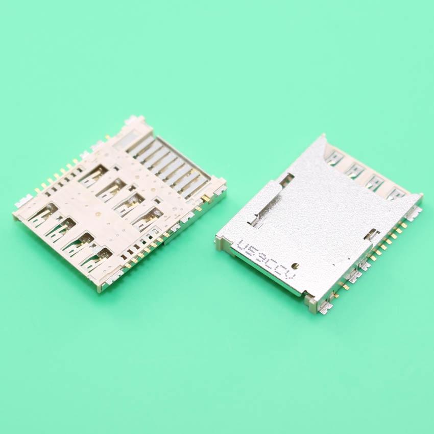 YuXi 2pcs/lot, SIM Card Reader holder socket slot for Samsung Galaxy S5 G900A G900H G900F G900 G900X I9600.