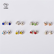 10 Pcs bag 3D Manicure Gold Alloy Heap Drill Jewelry Nail Art Decor Diamond Stickers Crystal Glue In The Nail New Fashion Tools cheap Rhinestone Decoration H074-H081 Metal 7mm*8mm LEAMX 10psc Silver yellow red blue white Nail Art Decorations Cell Phone