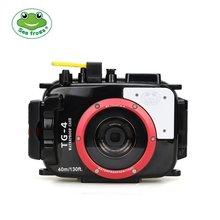 Seafrogs 60M Underwater Diving Waterproof Camera case for Olympus TG4