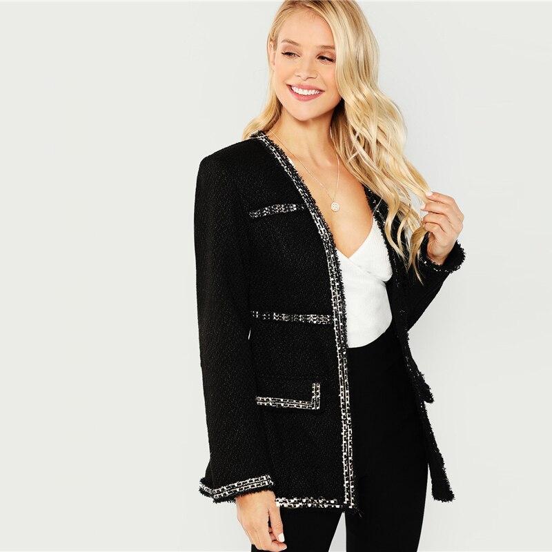 Blazer Royalty negro S10 Paraíso de la Moda | PdM