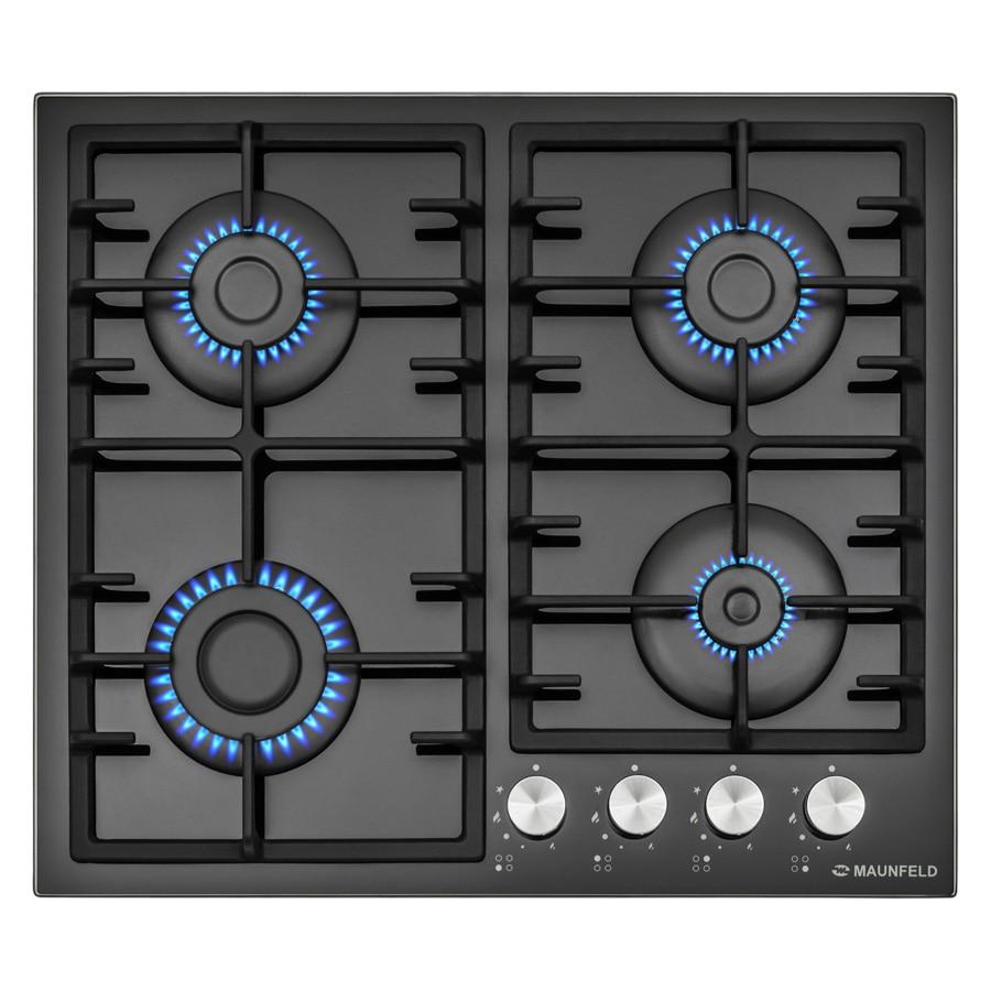 Cooking panel MAUNFELD EGHG.64.3CB/G Black cooking panel maunfeld eghg 32 2cb g black