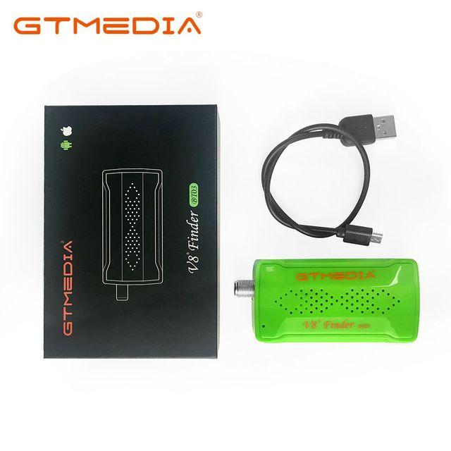 GTmedia V8 Finder BT03 Mini Sat finder BT DVBS2 спутниковый Finder Meter с Android и IOS System App Freesat BT01 Upgrad HD1080P