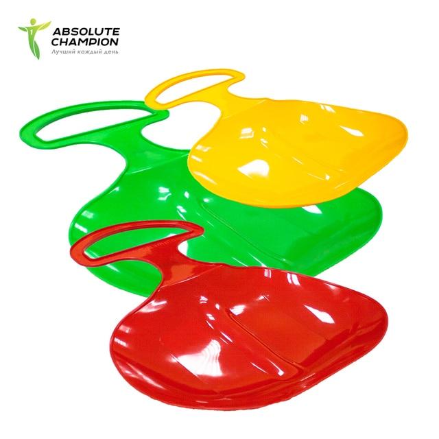Ледянка пластиковая S2 160 грамм - сани для катания с горки для детей Absolute Champion
