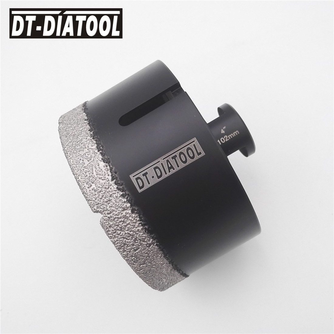 Diameter 102MM 4 Vacuum brazed diamond Dry drill core bits5/8-11 thread Drilling bits hole saw marble granite tile ceramic