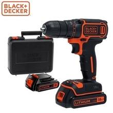 Электрическая отвертка Black + Decker BDCDC18 аккумуляторная отвертка мощный инструмент дрель ремонт ручной инструмент рем