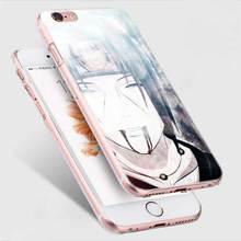 Naruto Phone Cover Fundas Coque for Apple iPhone 7 8 Plus 6 6s Plus X 5 5s 4 4s