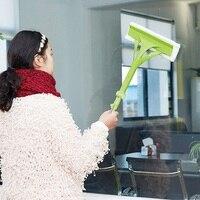 Window Glass Cleaner Tool Household Portable Double Side Window Glass Cleaning Brush Tools Multifunctional Brush Cleaner