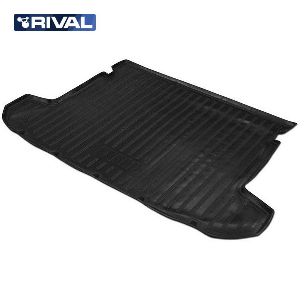 For Hyundai Tucson 2015-2019 trunk mat Rival 12309002 waterproof anti slip car trunk mat protector cover car pet dog mat for hyundai tucson black