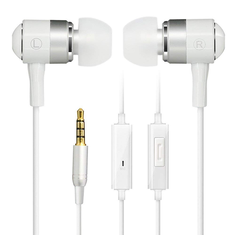COWIN HE1 in-ear 3,5mm estéreo auricular deportes micrófono iphoe Android Teléfono Móvil juego de música subwoofer computadora alambre tapones