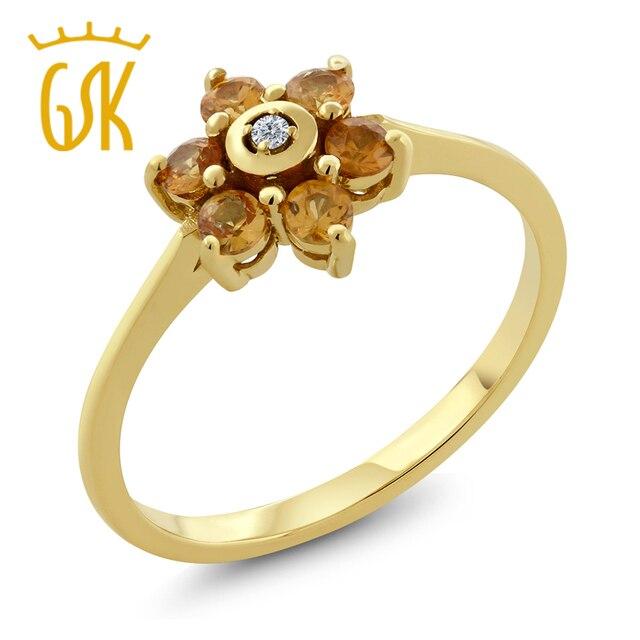 Gemstoneking diamond jewelry solid 14k yellow gold womens wedding gemstoneking diamond jewelry solid 14k yellow gold womens wedding ring natural yellow sapphire and diamond publicscrutiny Images