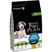 Pro Plan Large Puppy Athletic для щенков крупных пород атлетического телосложения, Курица, 3 кг