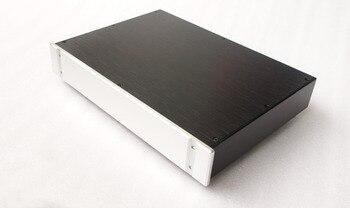 BZ4307B All Aluminum Audio DAC Decoder Chassis Preamplifier Housing HiFi Amplifier Enclosure DIY Case Box 430MM*70MM*308MM