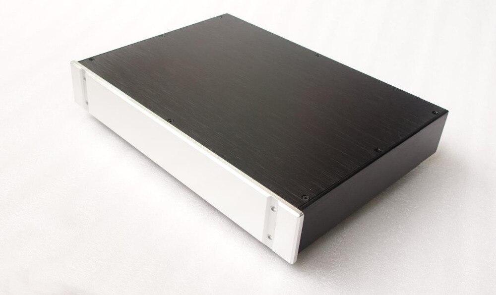 BZ4307B tout aluminium Audio DAC décodeur châssis préamplificateur boîtier HiFi amplificateur boîtier boîtier bricolage boîtier 430 MM * 70 MM * 308 MM