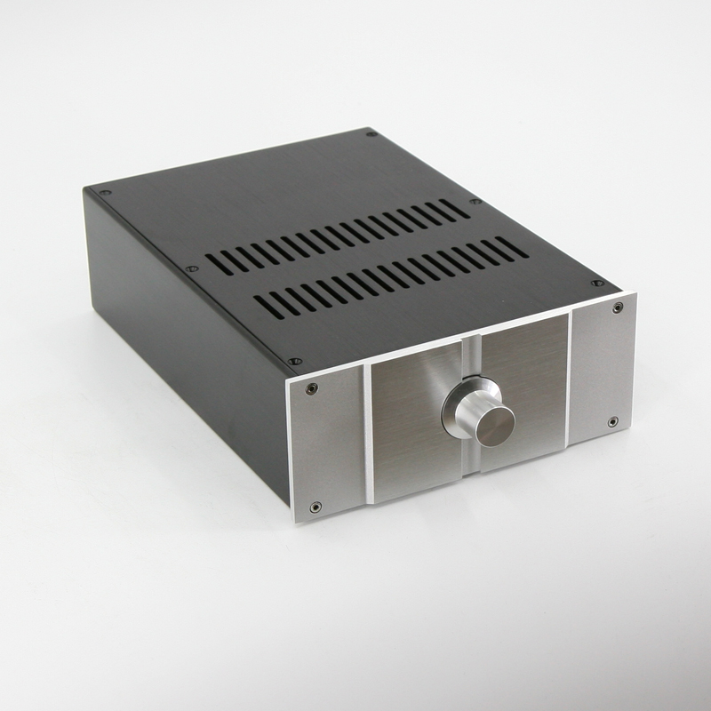 JC229I All Aluminum PASS Chassis Power Amplifier Housing Audio Amp Case Preamp Enclosure DIY PASS Box