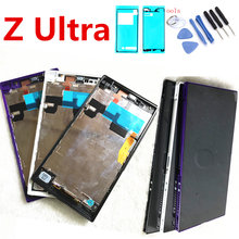 6.44 Originele Lcd Voor Sony Xperia Z Ultra Display Touch Screen Digitizer Voor Sony Xperia Z Ultra Display XL39h XL39 c6833 C6802(China)