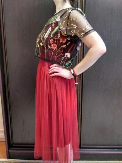 [Chicever] 2017 пикантные с открытыми плечами Лето Женское платье женские свободные Спагетти ремень сетки Дамы Одежда для вечеринок новые Костюмы
