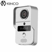 Kinco Wi Fi Дверные звонки аудио видео подключения сети смартфон Дистанционное управление P2P тревоги саботажа ночь безопасной для Умный дом SDK/api