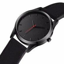 2018 большой циферблат часы для Для мужчин час Для мужчин s часы лучший бренд класса люкс кварцевые часы мужские кожаные спортивные наручные часы часы relogio saat