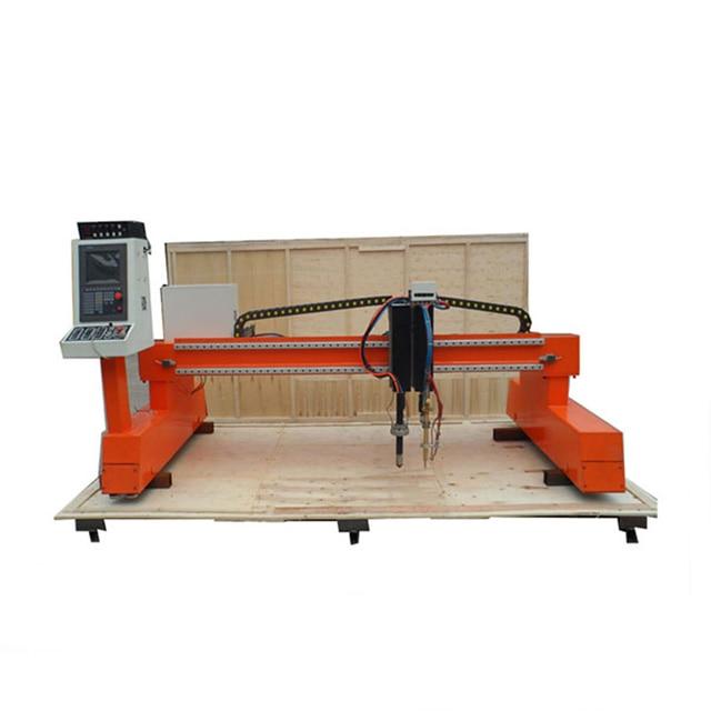 China gantry type CNC plasma cutting machine for aluminum/iron/steel/metal sheets cutting 5