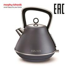 Электрический чайник Morphy Richards Evoke Pyramid  Steel Blue 100102