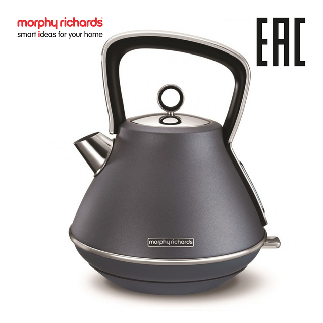 Электрический чайник Morphy Richards Evoke Pyramid  Steel Blue 100102