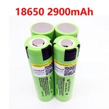 4 шт., литиевые перезаряжаемые батарейки 18650 2900 мАч
