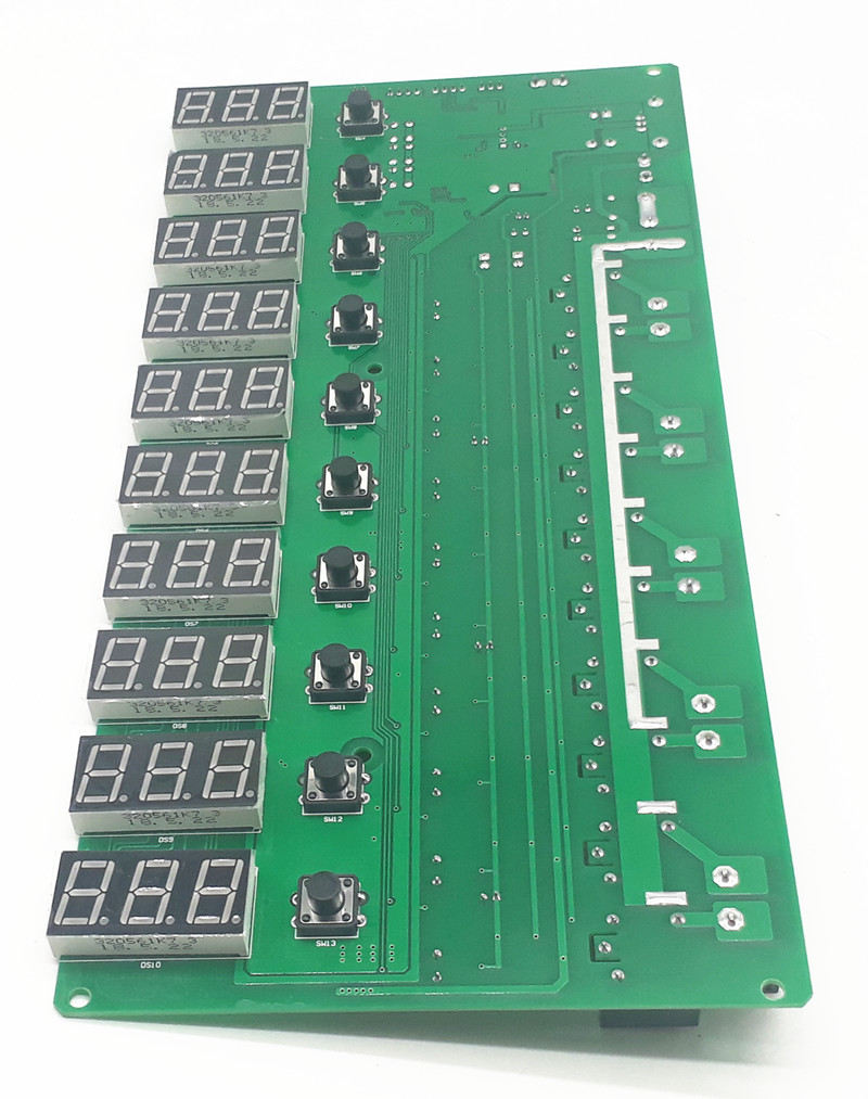 цена на JY-10 3 Digits 10 Channel 1-999 Minute Time Control Board for Power Recharger
