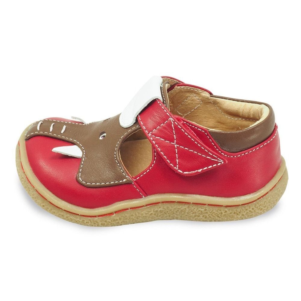 Red_elephant_shoe_for_Kids_side