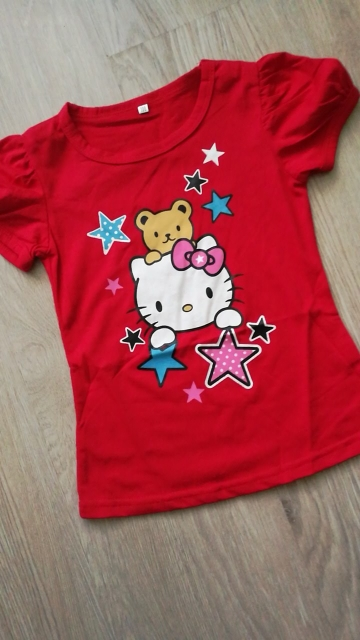 Seartist Baby Girls Minnie Tshirt Girl Hello Kitty Cartoon T-shirts Bebes Girl Shorts T Shirt Baby Girl Clothes Tees 2019 New 10