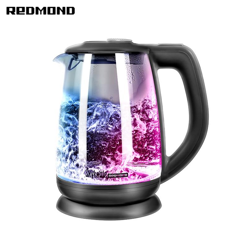 Electric kettle REDMOND SkyKettle RK-G214S electric kettle redmond rk m172 metal