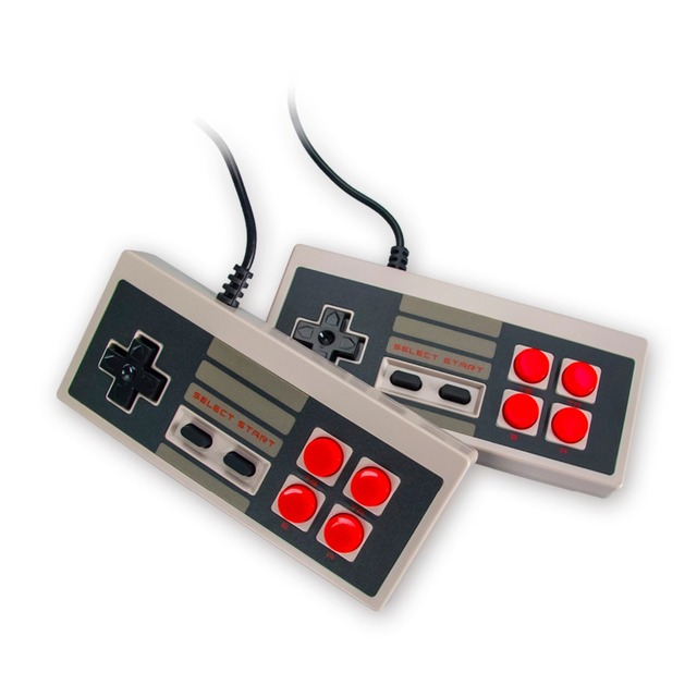 WOLSEN 8 Bit Entertainment System Mini Retro Classic TV Game Console with 500 different games