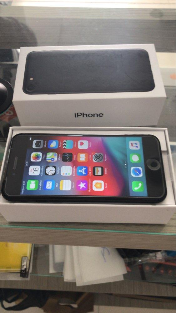 Unlocked Apple iPhone 7 4G LTE Cell Phone 32/128GB/256GB IOS 12.0MP Camera Quad-Core Fingerprint 12MP 1960mA