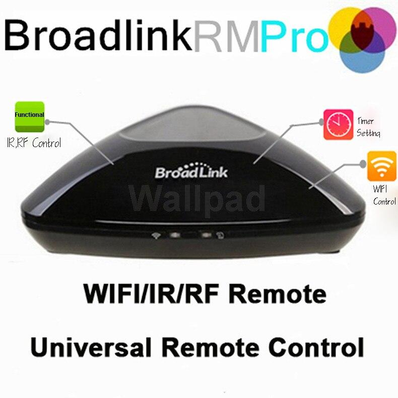Broadlink RM3 RM 2 Pro interruptor inteligente de automatización del hogar interruptor inteligente WiFi + IR + RF centro remoto para iPhone IOS Android