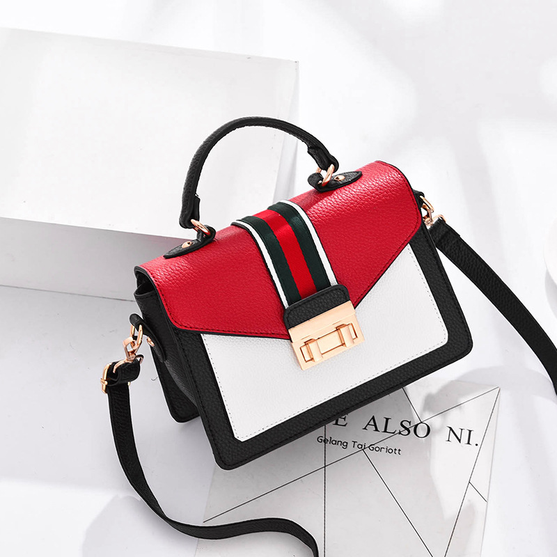 f5817e73f70d Detail Feedback Questions about Bag female 2018 new wave Korean version of  the wild single shoulder Messenger bag girl bag fashion small square bag.  on ...