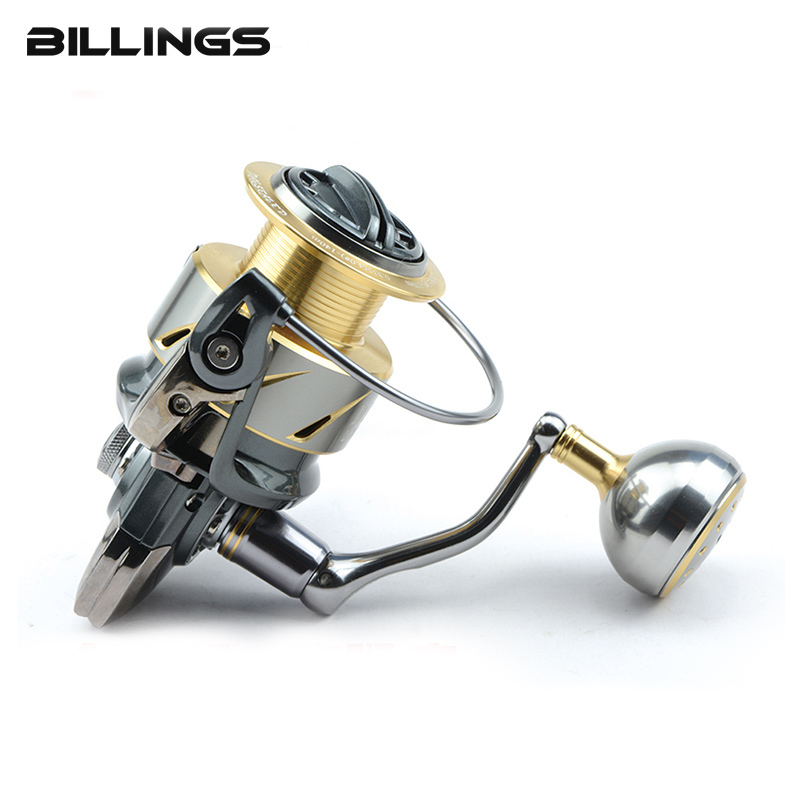 DMK New 800 5000 Size Spinning Fishing Reel 5.2:1/11+1BB Steering wheel Crap Reel CNC Handle Molinete Para Pesca Crap Reel Peche