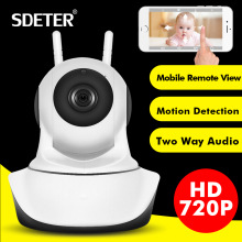 SDETER 1080P Full HD Wireless IP Camera Sucurity CCTV WIFI Network Surveillance IR Night Vision Baby Monitor 720P