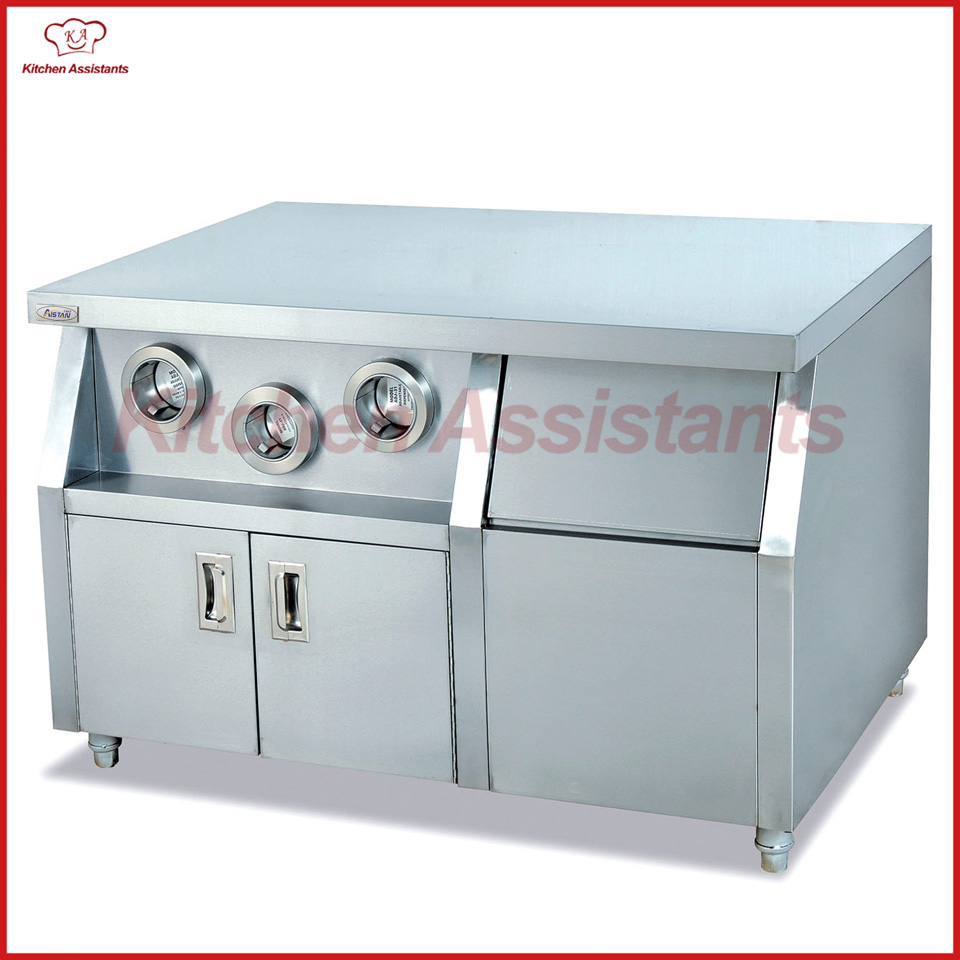 WS01 Center Island for commercial kitchen