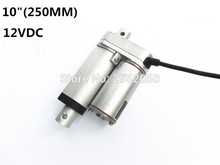 12V 250mm/10inch stroke 900N /198LBS micro linear actuator electric linear actuator TV lift high speed linear actuator стоимость