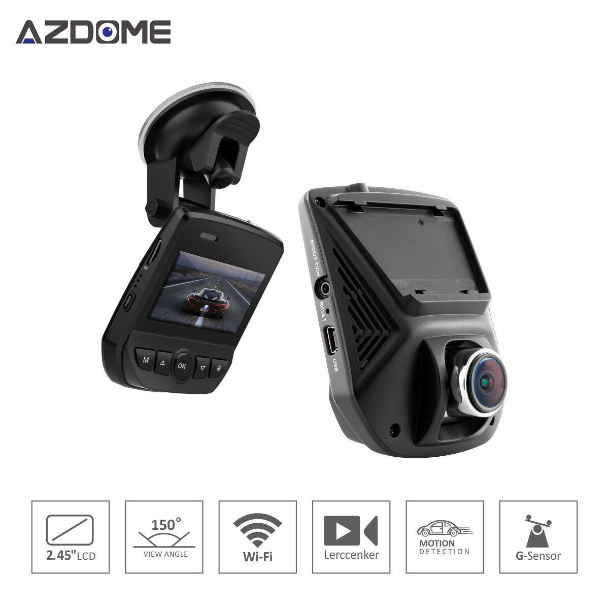 Azdome A305 Mini Hidden Full Hd 1080P Car DVR Dash Camera With WiFi 2.45 IPS Inch Screen Novatek 96658 Video Recorder
