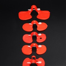 Wholesale chicken protecting glass eye cover plastic glasses