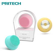 PRITECH Mini USB Silicone Cleansing Device Blackhead Acne Removal Waterproof Electric Facial Cleaner Face Massager Dropshipping